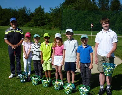 Golf Kindercamp Laab im Walde